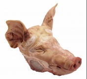 Fournisseur Pork head with cheeks with ears